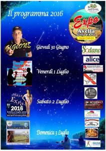 Programma Expo 2016